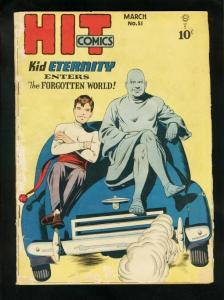 HIT COMICS #51 1948- KID ETERNITY-GERONIMO-ROBIN HOOD-good plus G+