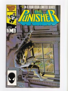 Punisher #4 Marvel Comics Limited Series 1986 NM 9.4