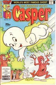 CASPER  (1958-    ) 235 VF-NM August 1987 COMICS BOOK