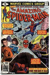 AMAZING SPIDER-MAN #195-1979-2ND BLACK CAT-NM