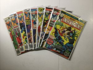 Inhumans 1-6 1 2 3 4 5 6 8 11 12 Lot Run Nm- 9.2 12 Is Vg 4.0 5 Is Vf 8.0 Marvel