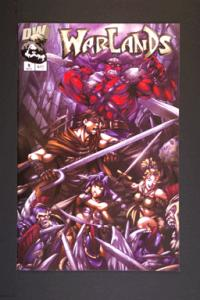 Warlands # 9 November 2002 Image Comicss