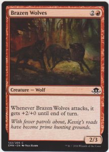 Magic the Gathering: Eldritch Moon - Brazen Wolves