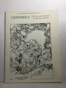 Crimmer's The Harvard Journal Of Pictorial Fiction Nm- Near Mint-Fanzine