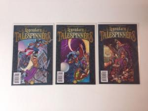 Legendary Talespinners #1-3 Set Near Mint Lot Run