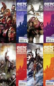 SIEGE EMBEDDED (2010) 1-4 Avengers, Reed/ Samnee/Wilson