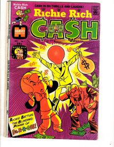 Richie Rich Cash # 1 FN Harvey Comic Book Dr. N-R.Gee Bronze Age Series JL28