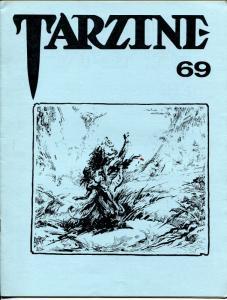 Tarzine #69 1988-Fanzine for collectors of Tarzan and ERB memorabilia-VF