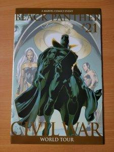 Black Panther #21 Variant Cover ~ NEAR MINT NM ~ 2007 Marvel Comics