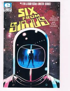 Six From Sirius #1 VF Epic Comics Comic Book Moench Gulacy 1984 DE6
