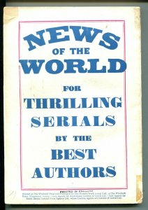 TALES OF WONDER #2 1939-BRITISH PULP-RETRO ROCKET COVER-RARE-vg