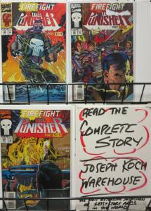 PUNISHER (1987)  82-84  Firefight complete story