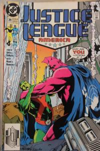 Justice League America  39  VF/NM