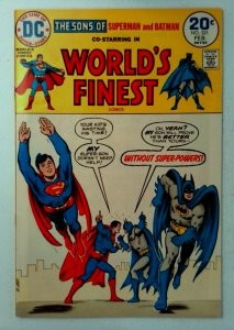 World's Finest #221 DC 1974 VF+ Bronze Age 1st Printing Comic Book