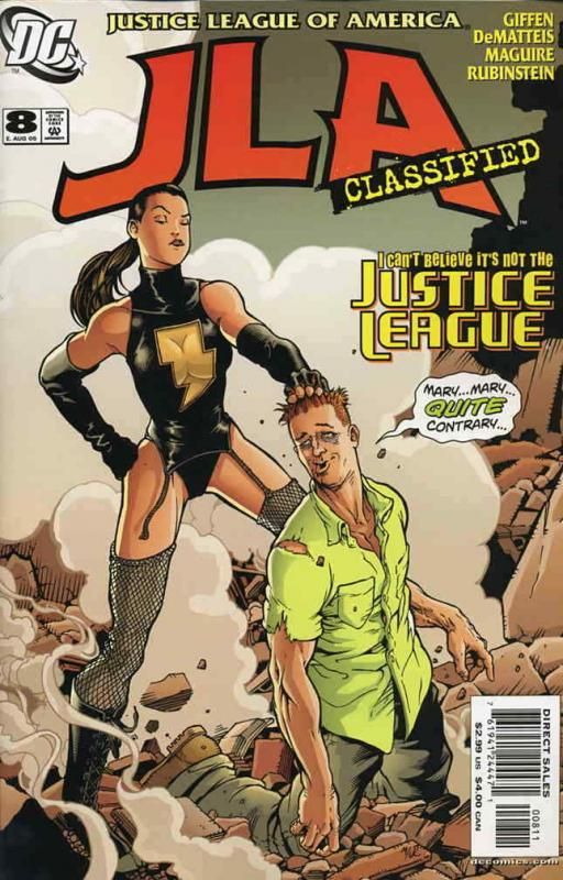 JLA: Classified #8 VF/NM; DC | save on shipping - details inside
