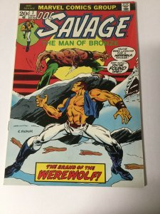 Doc Savage 7 Fn Fine 6.0 Marvel