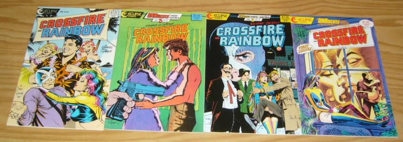 Crossfire & Rainbow #1-4 VF/NM complete series - dnagents spin-off dave stevens