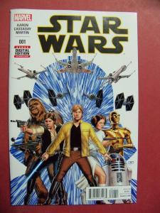 STAR WARS #001 REGULAR  COVER NEAR MINT 9.4 MARVEL COMICS 2015 SERIES
