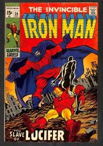 Iron Man #20 VG- 3.5 Marvel Comics