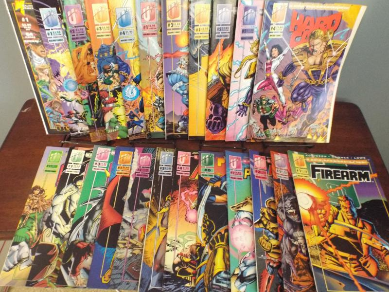 Lot of 11 Ultraverse Titles, 9 #1's & 2 #0's included