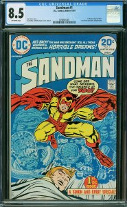 Sandman #1 (DC, 1974) CGC 8.5