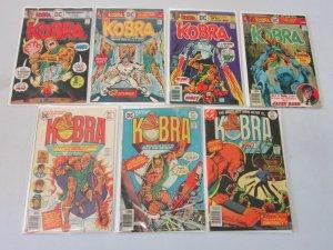 Kobra Set #1-7 4.0 VG (1976)