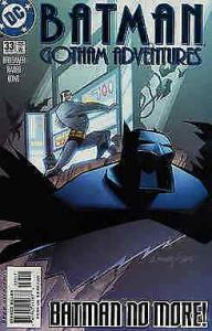 Batman: Gotham Adventures #33 VF/NM; DC | save on shipping - details inside