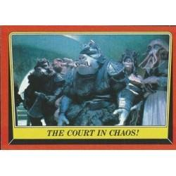 1983 Topps RETURN OF THE JEDI - THE COURT IN CHAOS! #35