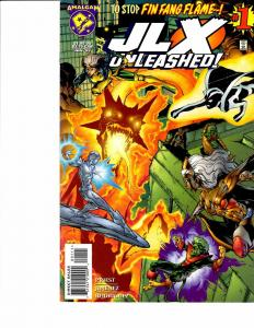 Lot Of 2 Comic Books JLX Unleashed #1 and Hero Alliance #4 ON3
