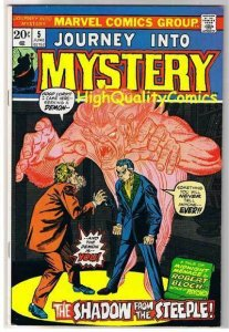 JOURNEY into MYSTERY #5, FN+, Robert Bloch, Demon, Horror, more in store