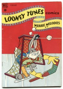 Looney Tunes and Merrie Melodies #76 1948- Hockey cover FN-