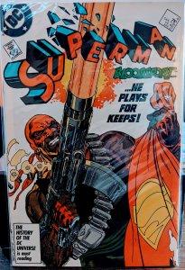 Superman #4 (1987) NM