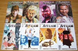 A-Team: Shotgun Wedding #1-4 VF/NM complete series + (4) war stories one-shots