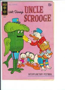 Uncle Scrooge  #94 - Bronze Age - Aug. 1971 (FN)
