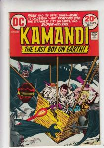 Kamandi the Last Boy on Earth #9 (Sep-73) NM/NM- High-Grade Kamandi