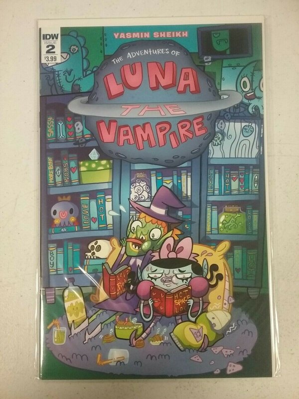 Luna the Vampire #2  IDW Comics Feb 2016 NW159