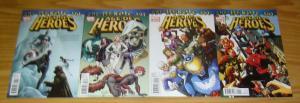 Age of Heroes #1-4 VF/NM complete series - adam blue marvel - squirrel girl 2 3