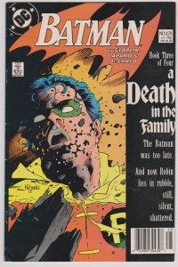 Batman #428 (F) Death in the Family