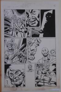 DON HECK / ROBERT LEWIS original art, CTHULHU #3 pg 8, 11x17,1992, H P Lovecraft