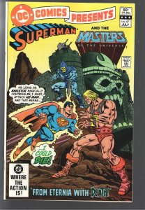 DC COMICS PRESENTS 47 NM+ 9.2-9.4  1ST APP MASTERS OF THE UNIVERSE ! STUNNER!!!
