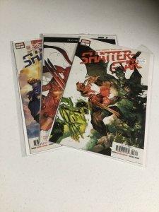 Shatterstar 3 4 5 Nm Near Mint Marvel Comics