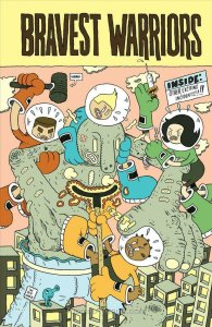 Bravest Warriors #1C VF/NM; Boom! | save on shipping - details inside