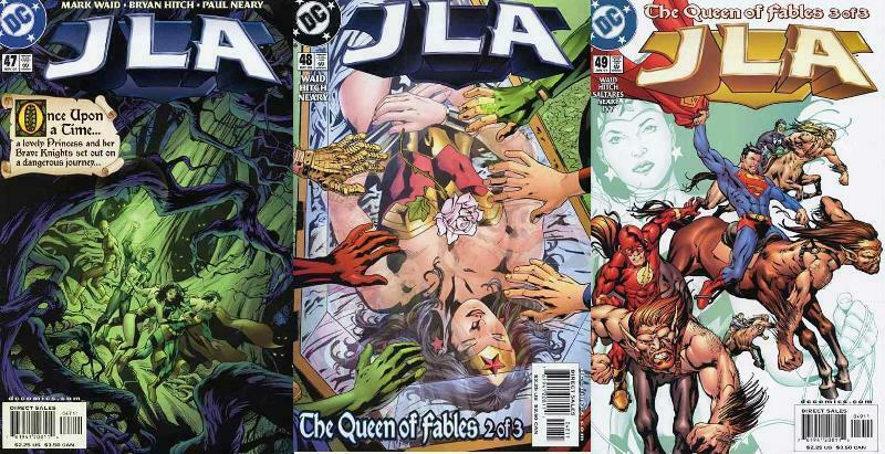 JLA (1997) 47-49  Queen Of Fables
