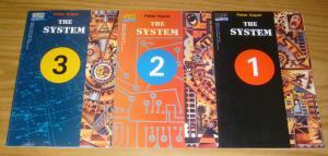 the System #1-3 VF/NM complete series - peter kuper - vertigo comics verite 2