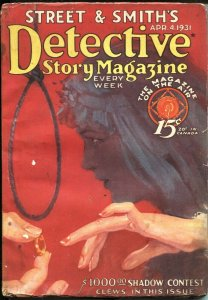 DETECTIVE STORY MAGAZINE-APR49 1931-PULP CRIME----SHADOW CONTEST CLUES