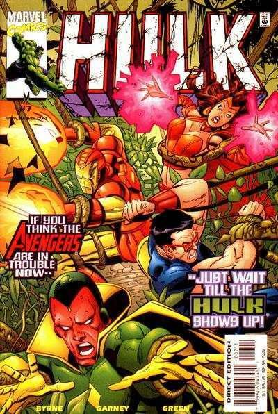 Hulk (1999 series) #7, NM + (Stock photo)