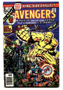 AVENGERS ANNUAL #6 comic book-Jack Kirby-1973-Marvel FN/VF