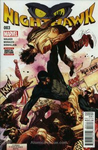 Nighthawk (2nd Series) #3 VF/NM; Marvel | save on shipping - details inside