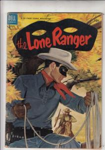 Lone Ranger, The #74 (Aug-54) FN Mid-Grade The Lone Ranger, Tonto, Silver