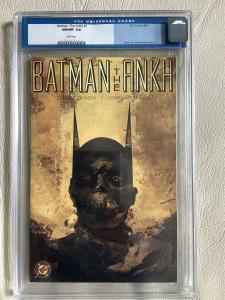 Batman: The Ankh #1 - CGC 9.8 Dixon And Van Fleet